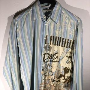 Dolce & Gabbana Shirt LS (See Measurements)